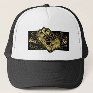 Distortion Pedal Plug In Gold Ver.2 Trucker Hat
