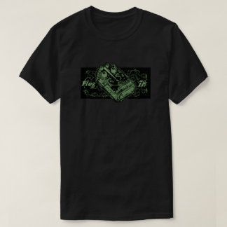 Distortion Pedal Plug In Green T-Shirt