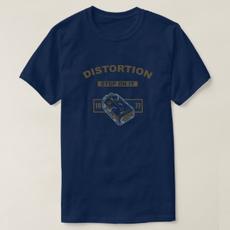 Distortion Step On It- Blue/Gold 1977 T-Shirt