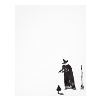 Distracted Witch Letterhead