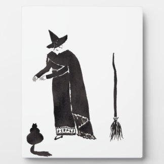 Distracted Witch Plaque