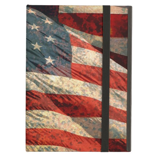Distress American Flag iPad Air Case