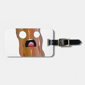Distress Bacon Swag Luggage Tag
