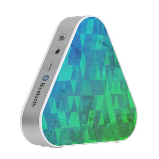Distressed Abstract Blueooth Speaker