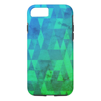Distressed Abstract tough iPhone 8/7 Case