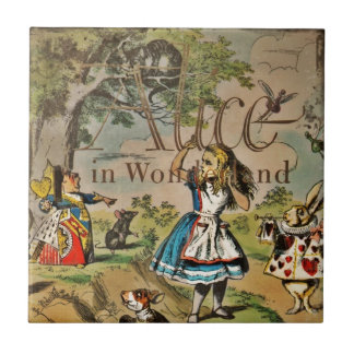 Distressed Alice and Friends Cover Tile