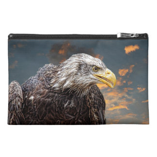 Distressed American Eagle Photography Print Travel Accessories Bags