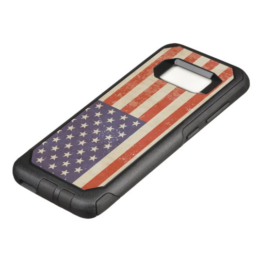 Distressed American Flag Design OtterBox Commuter Samsung Galaxy S8 Case