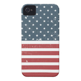 distressed american flag iPhone 4 Case-Mate case