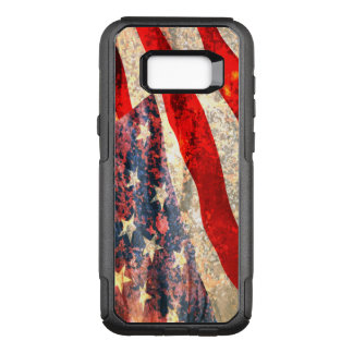 Distressed American Flag OtterBox Commuter Samsung Galaxy S8+ Case