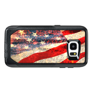 Distressed American Flag OtterBox Samsung Galaxy S7 Edge Case