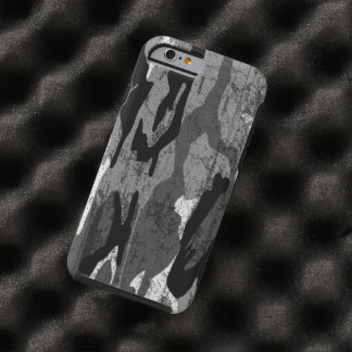 Distressed Arctic Camo Tough iPhone 6 Case