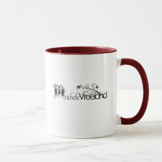Distressed Border - 2-sided Mug.. - Customized Mug