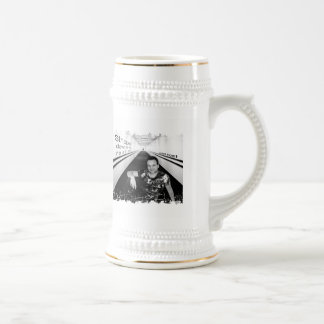 Distressed Border Stein Mug