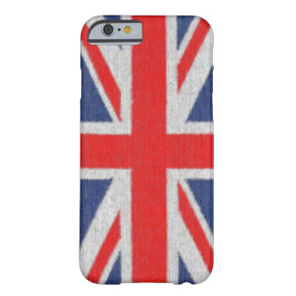 Distressed British Flag iPhone 6 case Barely There iPhone 6 Case