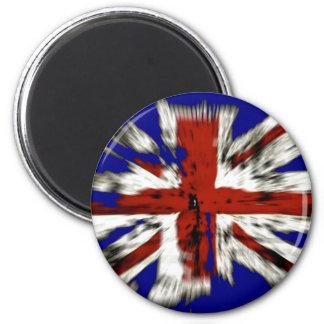 Distressed British Union Jack Magnet