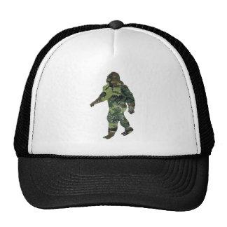 Distressed Camo Bigfoot Hat