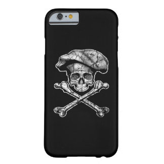 Distressed Chef Skull iPhone 6 Case