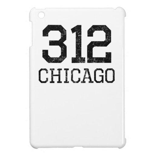 Distressed Chicago 312 iPad Mini Case