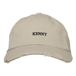 Distressed Chino hat