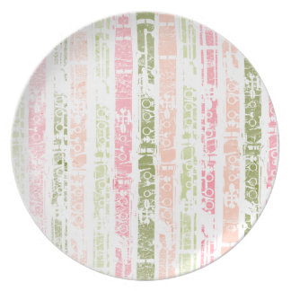 Distressed Clarinets Party Plates