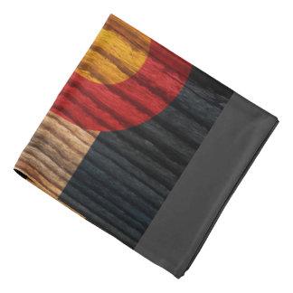 Distressed Colorado Flag Bandana