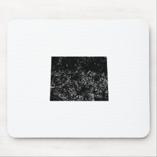 Distressed Colorado Silhouette Mousepads