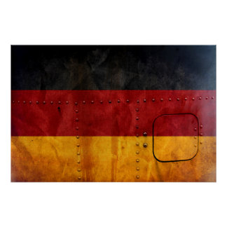 Distressed Country Flags | Germany Poster