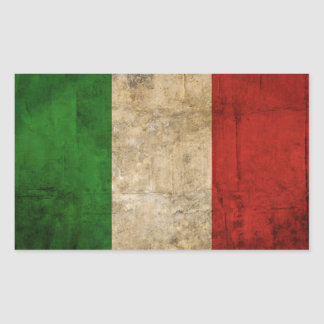 Distressed Country Flags | Italy Sticker