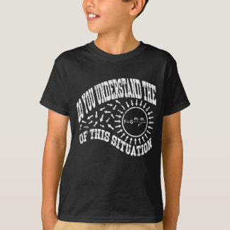 Distressed-Do You Understand The Gravity Formula T-Shirt