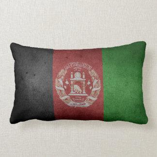 Distressed Flag of Afghanistan Lumbar Pillow