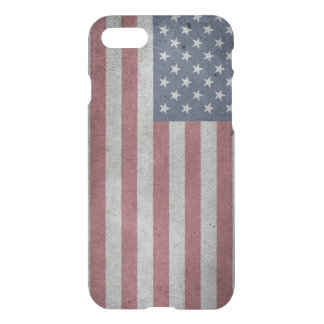 Distressed Flag of the United States iPhone 7 Case