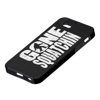 Distressed Gone Squatchin iPhone 5 Case