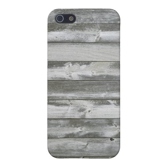Distressed Grey Wood Planks Protective case. iPhone 5/5S Cases