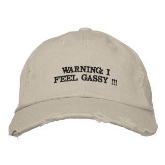 Distressed hat. baseball cap