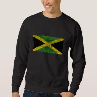 Distressed Jamaica Flag Sweatshirt