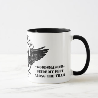 Distressed Memorial Hoodlum Ringer Mug - 15 oz
