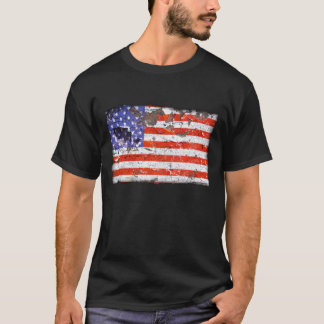 Distressed Nations™ - America (shirt) T-Shirt