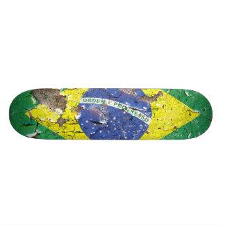 Distressed Nations™ - Brazil (skateboard) Skateboard Deck