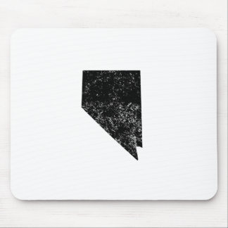 Distressed Nevada Silhouette Mouse Pads