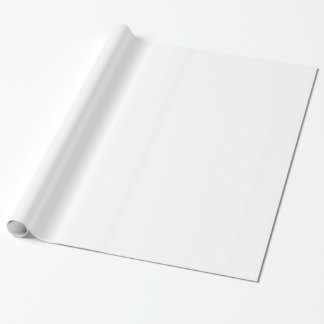 Distressed Peace Sign White Wrapping Paper