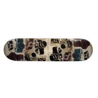 distressed photographer photography retro Camera Skate Decks