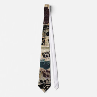 distressed photographer photography retro Camera Tie