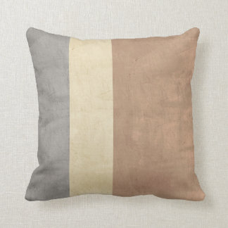 distressed pillow shabby chic style stripes