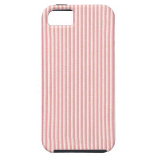 Distressed Pink Stripes iPhone 5 Cover