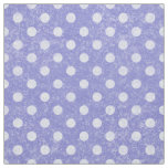 Distressed Polka Dots Periwinkle DPDA Fabric