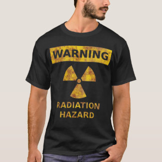 Distressed Radiation Hazard T-Shirt