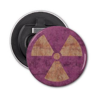 Distressed Radiation Symbol Bottle Opener