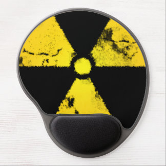 Distressed Radiation Symbol Mousepad