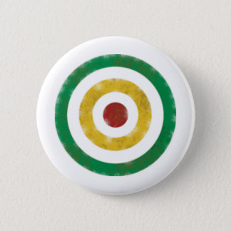 Distressed Rasta Rings 2 Inch Round Button